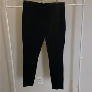 Loft Front Slit Legging Pencil Pants with Zipper